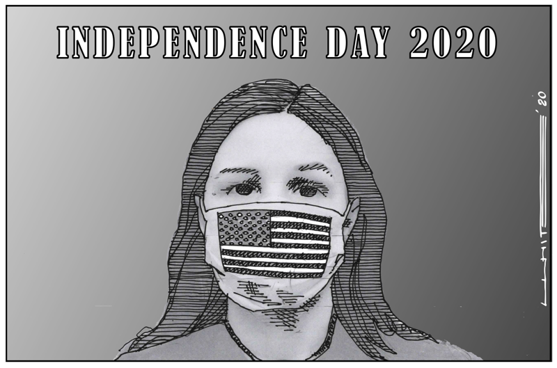 masking independence day